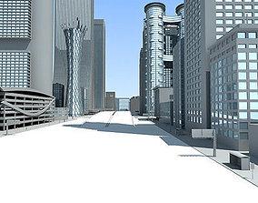 exterior Main Street 3D model