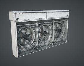 Vents Triple Fan 3D asset