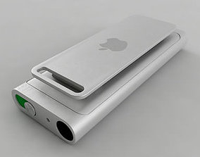 3rd Generation iPod Shuffle 3D model apple