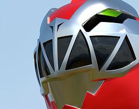 Ryusoulred-Ryusoulger helmet for 3d print