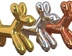 Modern Balloon Dog 3D