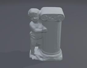 antique statue 3D printable model business