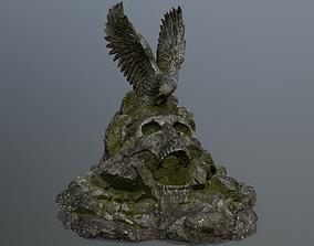 3D asset skull gate