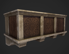 Medieval Balcony 3D asset realtime