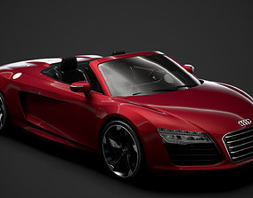 3D Audi R8 V10 Spyder 2016