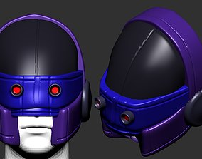 helmet high poly sculpt 3d printable ver 2