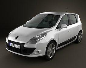 Renault Scenic 2010 3D model