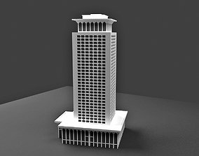 3D Egyptian Ministry of Foreign Affairs building