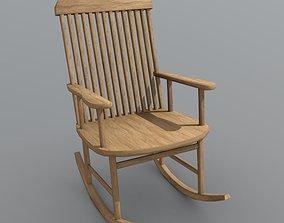 3D asset Rocking Chair
