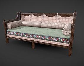 Veranda Couch 3D asset
