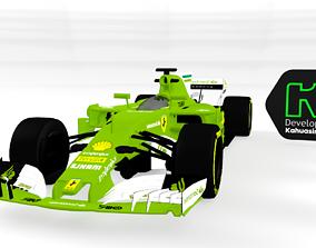 3D model Auto de Formula 1