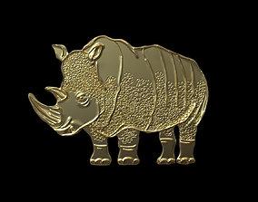3D print model animal rhino