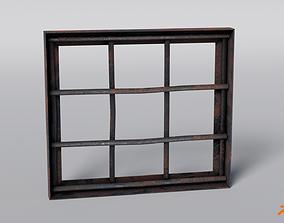 3D asset Prison Bars