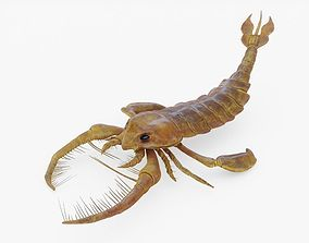 Jaekelopterus Sea Scorpion Rigged 3D asset