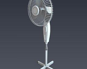 Electric fan 3D model electronics