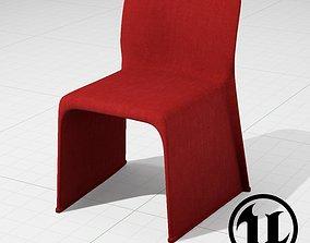 MolteniC Glove Chair UE4 3D asset