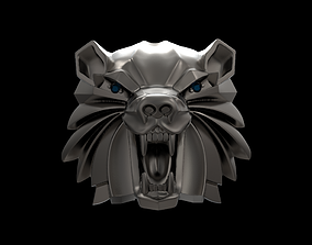 Witcher school of the Bear medallion 3D printable model