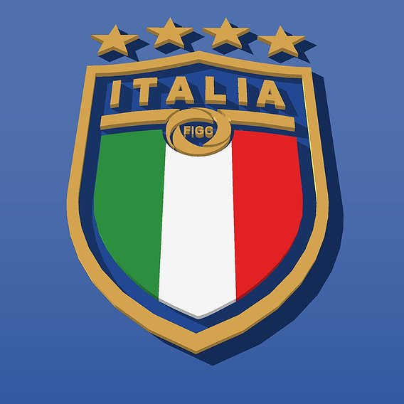 Forza Azzurri for Italian soccer team