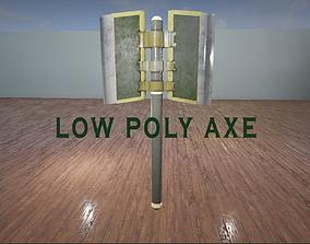 3D model Battleaxe 02