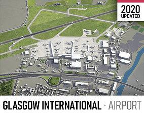 3D asset Glasgow Airport - GLA