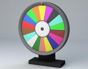 3D model Fortune Wheel