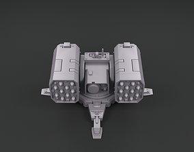 Warhammer 40k - Hyperios Air Defence 3D print model 2
