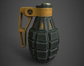 Grenade F-1 3D asset