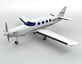 Epic Dynasty Aircraft 3D asset