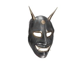 3D model Hannya Mask