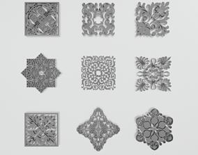 Ornament Collection 5 3D model