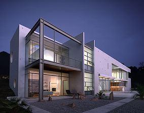 Spacious Modern House 3D