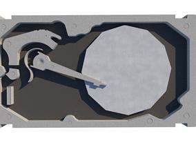 Hard Disk 3D printable model