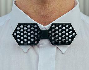 Hexagon Bow Tie 3D printable model