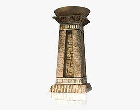 3D model Ancient Egyptian brazier