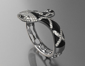Bracelet Snake 3D print model