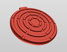 QI WIRELESS CHARGER STYLE 4 3D printable model