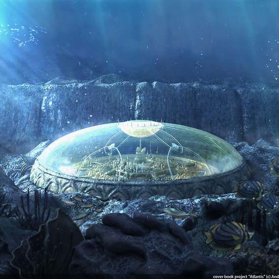 Atlantis- cover book project