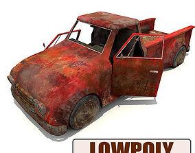Lowpoly Pickup 3D