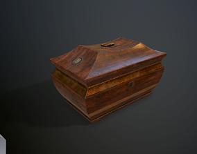 3D model Antique casket
