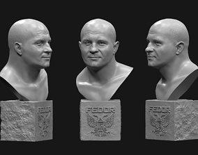 3D printable model Fyodor Vladimirovich Yemelyanenko bust