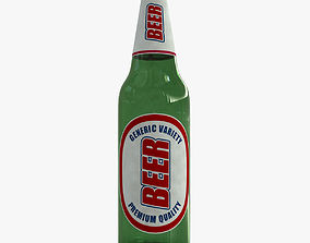 Generic Beer Bottle 3D