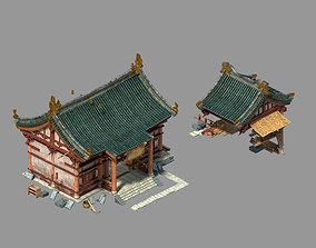3D Game Peach Blossom Island - Material Store 97