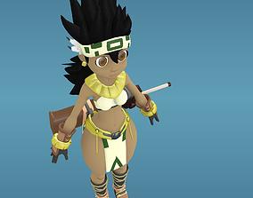 Amazon 3D Cartoon Character realtime