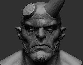 Hellboy v2 3D model