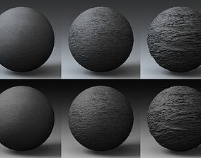 3D model Displacement Landscape Shader 009
