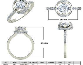 Jewelry 3D CAD STL Files- VJR113