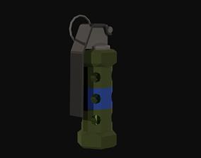 Flashbang Low Poly 3D model