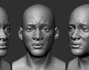 Will Smith 3D head Sculpt