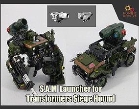 3D print model SAM Launcher for Transformers Siege Hound