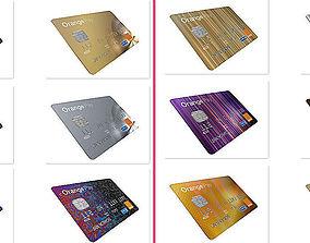 Credit card 3D